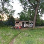Campground in TRNP