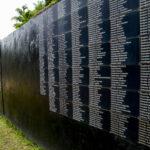 APF Rwanda participants pay respect at Kigali Genocide Memorial