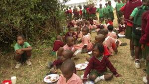 Ugandese schoolkinderen